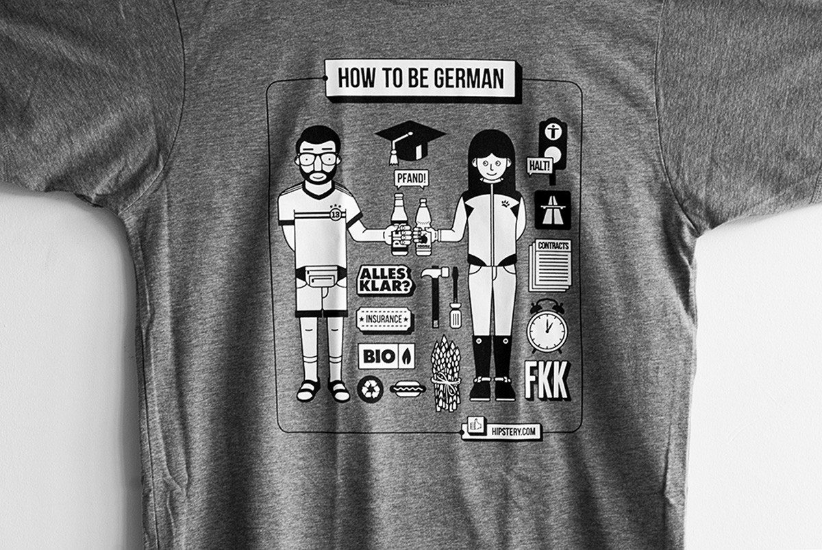 How to be a German - T-Shirt
