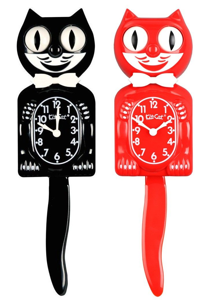 Kit Cat Clock - leuke kattenklok