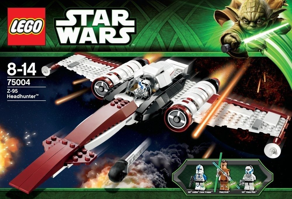 Lego Clone Wars: Starfighter ''Z-95 Headhunter''
