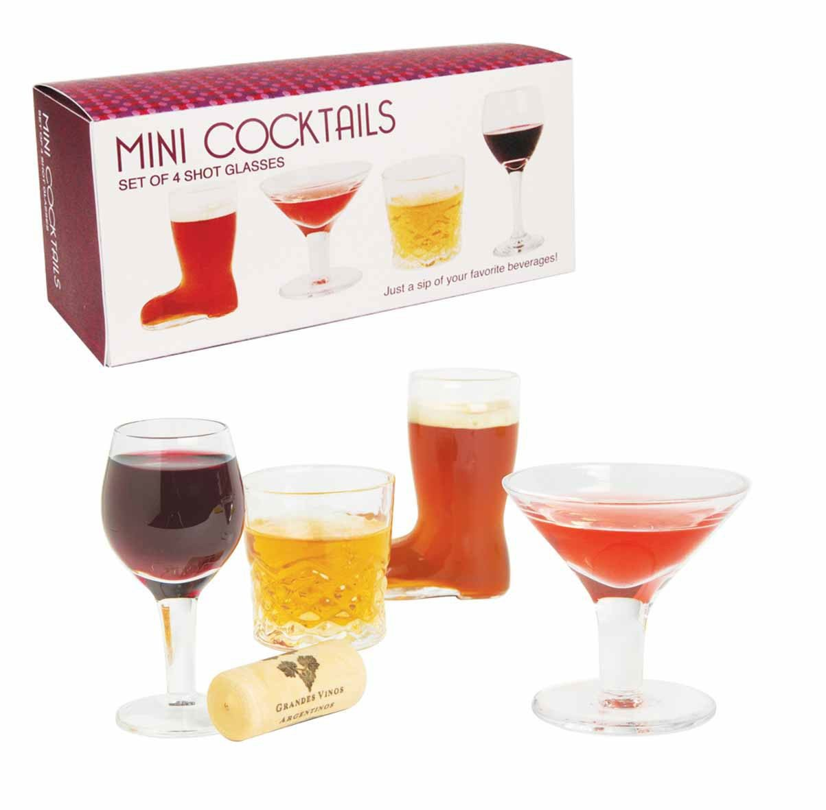 Mini cocktails - shotglaasjes