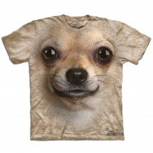 Big Face dieren T-shirts – Chihuahua