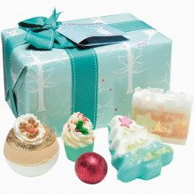 "Cadeauset ""Winter Wonderland"" voor in bad"