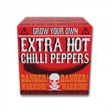 Grow your own - extra scherpe chilipepers