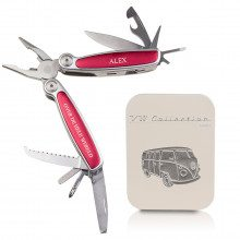 Multitool uit VW-Collection met gravure