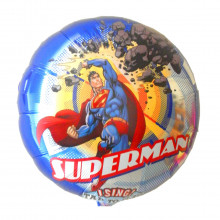 "Zingende heliumballon ""Superman"""