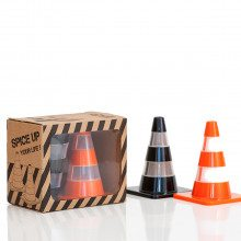 Salt & Pepper Traffic Cones - leuke cadeautip