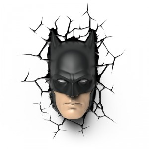 3D-lamp: Batman