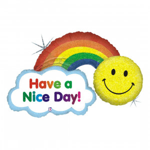 """Heliumballon """"Have a Nice Day"""""""