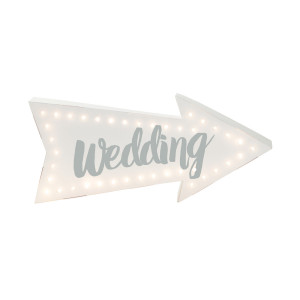 "LED-bord ""Wedding"""