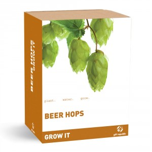 "Plantenset ""Grow it"" hop voor bier"
