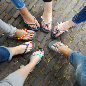 Workshop slippers pimpen - Utrecht